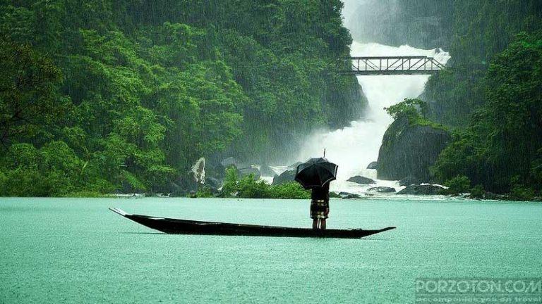 Jaflong Sylhet, photo of a rainy day