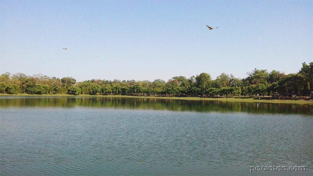 Ramsagar Dighi (lake) Dinajpur, one of the best tourist places in Dinajpur Bangladesh
