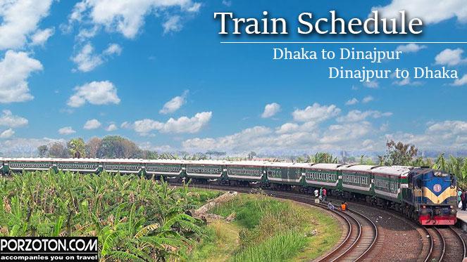Dhaka to Dinajpur Train Shedule 2020