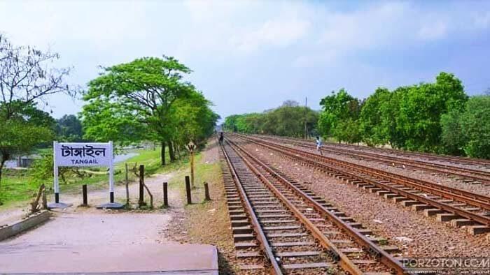 Tangail to Dhaka train schedule 2020, porzoton.