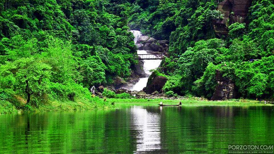 Panthumai Waterfall, Jaflong, Sylhet