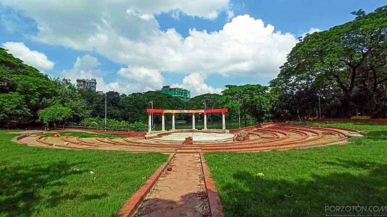 Rabindra Sarobar, Dhanmondi Lake, Dhaka — porzoton.com