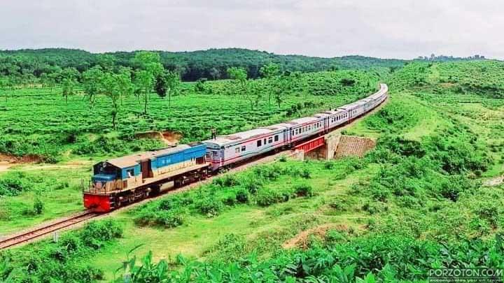 Dhaka to Srimangal train time table
