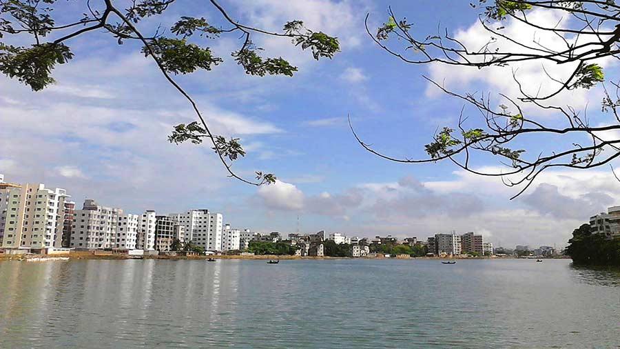 Gulshan Lake Park, Dhaka.