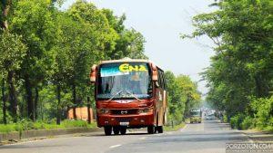 Sylhet to Dhaka bus Ena.