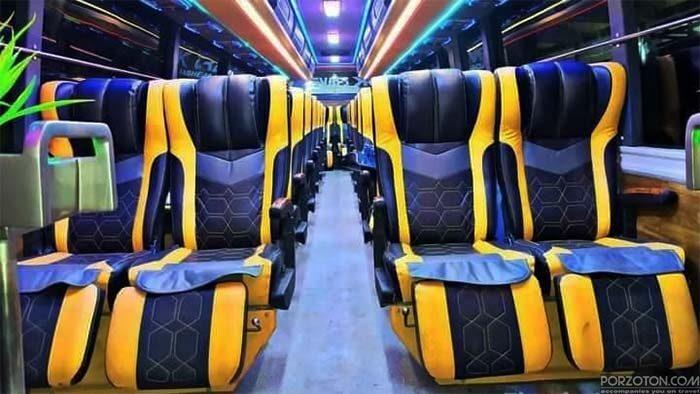 Dhaka to Chittagong bus service.