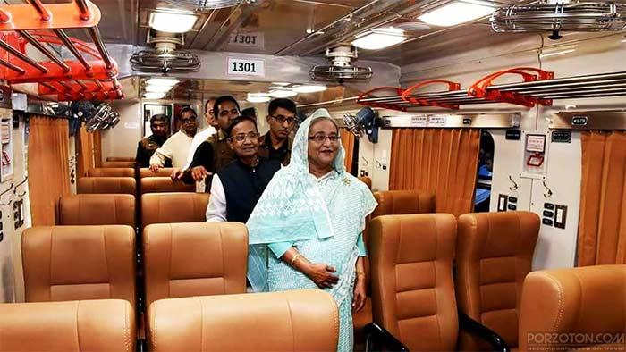 Sonar Bangla Express train schedule & ticket price 2021.