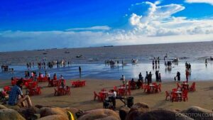 Patenga Sea Beach, Chittagong.