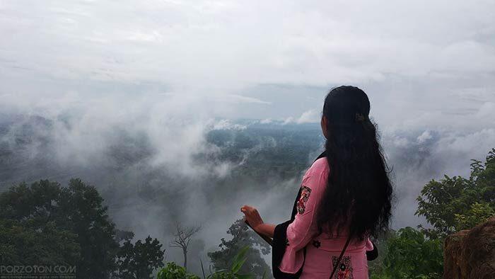 Sajek Valley, watching clouds