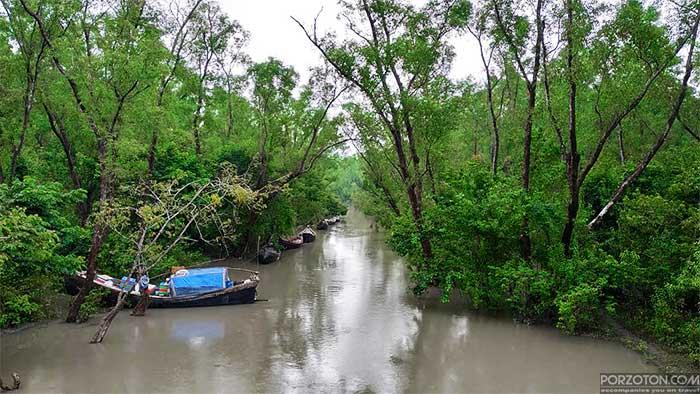 Haringhata Tourist Spot, Barguna