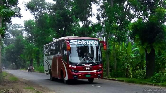 Sakura Paribahan Bus Dhaka to Barisal.