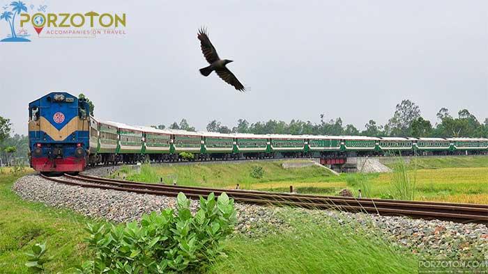 Dhaka to Panchagarh train Drutojan Express Schedule and Ticket Price