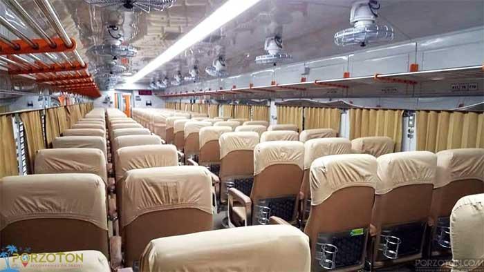 Dhaka to Panchagarh train Ekota Express
