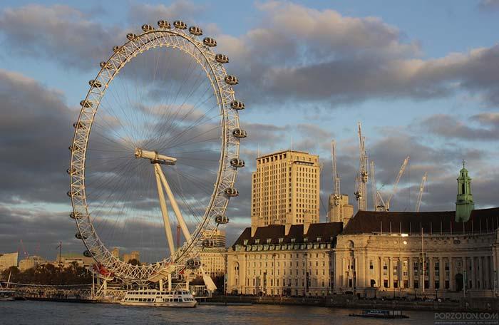 London Eye Ferris Wheel visit opening times and ticket price.