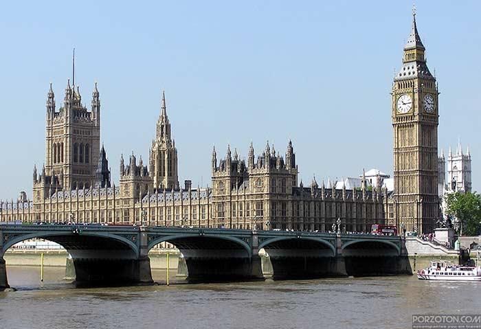 Big Ben Clock Tower, Elizabeth Tower, London, UK