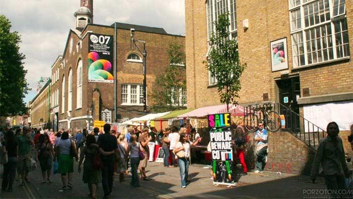Brick Lane Sunday Market, London