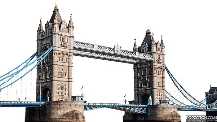 Tower Bridge London, famous tourist destination