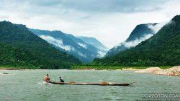 Bichanakandi Piyain River, Sylhet