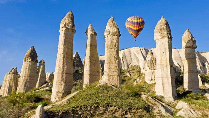 Cappadocia's fairy chimnies.
