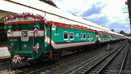 Dhaka to Chittagong Train Schedule Sonar Bangla Express.