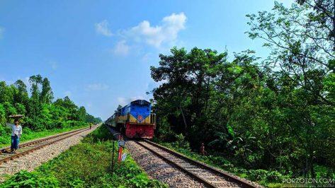 Dhaka to Noakhali Train Upakul Express, porzoton.