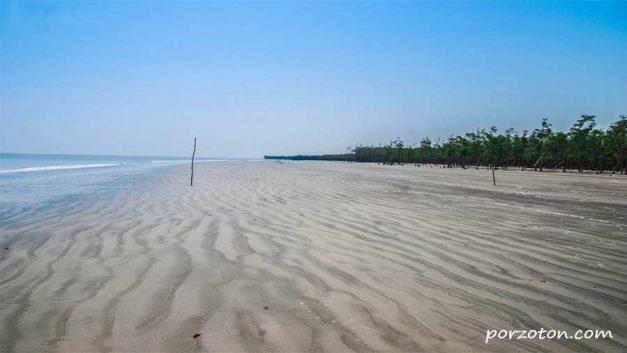 Mandarbaria Sea Beach, Satkhira, Sundarbon, Bangladesh