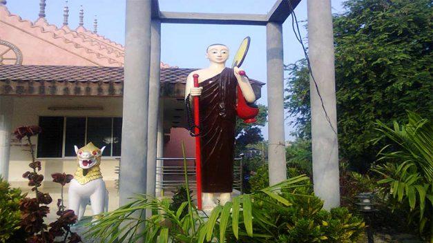 Sima Buddist Temple, Kuakata. সীমা বৌদ্ধ মন্দির, কুয়াকাটা