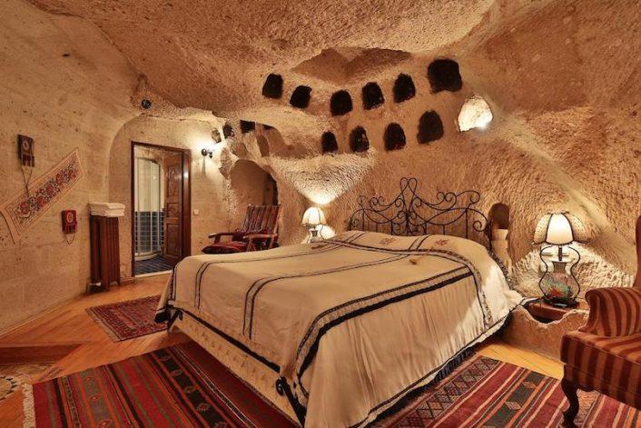 Uçhisar Cave Hotel Cappadocia